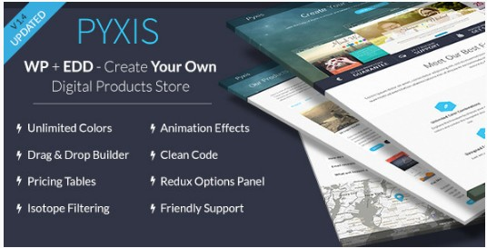 responsive pyxis wordpress theme free download
